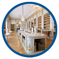 Drottningholm Palace's Library