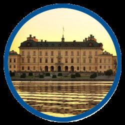 Sunset at Drottningholm