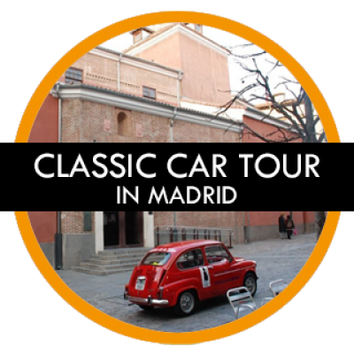 Madrid Gay Tours – Classic Car Tour in Madrid
