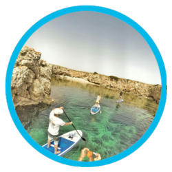 Menorca shore