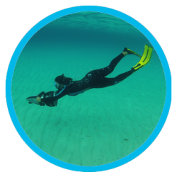 Snorkeling with Sea Scooter