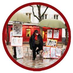 Artist at Montmartre