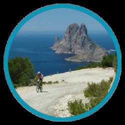 Ibiza on a bike