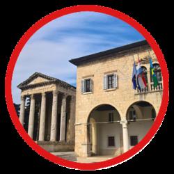 the Forum square