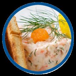 Surströmming (herring & sour cream)