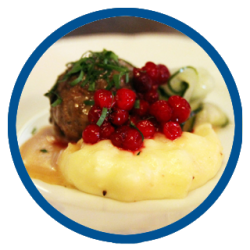 Köttbullar (meatballs & gravy)